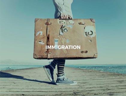 Austen Jones immigration